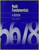 Math Fundamentals: A Review