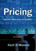 Pricing Making Profitable Decisions