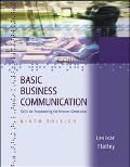 Basic Business Communication Skills for Empowering the Internet Generation