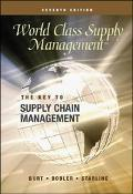 World Class Supply Management Key to Supply Chain Management