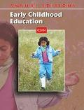 Early Childhood Education 03/04