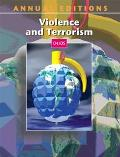 Annual Editions Violence and Terrorism 05/06
