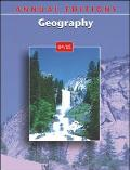 Annual Editions: Geography 04/05, Vol. 19