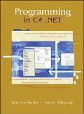 Programming in C#.Net