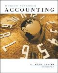 Modern Advanced Accounting