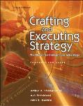 Crafting And Executing Strategy The Quest For Competitive Advantage