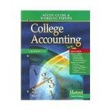 College Accounting: Study Guide & Working Papers (Chapters 1-13)