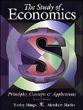 Study of Economics Principles, Concepts & Applications