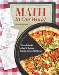 Mathematics in Our World (Student Solutions Manual)