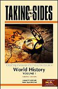 Taking Sides World History, Volume I