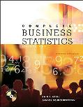 Complete Business Statistics