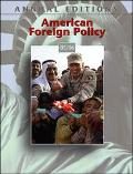 American Foreign Policy 05-06