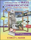 Introduction to Mass Communication Media Literacy And Culture With Powerweb And Dvd, Media E...
