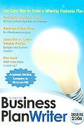 Business Plan Writer CD