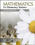 Mathematics for Elementary Teachers An Activity Approach