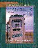 Selected Chapters From Calculus for Business, Economics, and the Social and Life Sciences