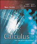 Calculus Single Variable; Early Transcendental Functions