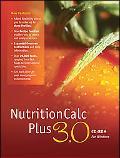 NutritionCalc Plus 3. 0 CD-ROM