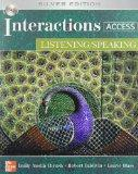 Interactions Access: Listening/ Speaking - With CD
