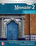 Mosaic 2: Reading - with CD Silver Edition