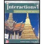 Interactions 1 Listening/Speaking, Silver Edition (Student Book with Audio CD)