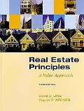 Real Estate Principles: A Value Approach (The Mcgraw-Hill/Irwin Series in Finance, Insurance...