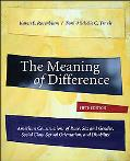 The Meaning of Difference