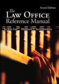 Law Office Reference Manual