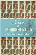 Unfinished Nation A Concise History of the American People