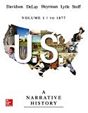 Us: A Narrative History: To 1877 Volume 1