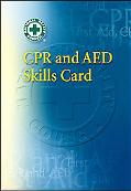 CPR & AED Skills Refresher Card