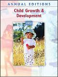 Annual Editions: Child Growth and Development 09/10