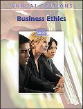 Business Ethics 08/ 09