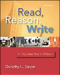 Read, Reason, Write An Argument Text and Reader
