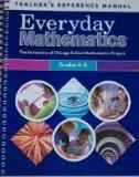 Everyday Mathematics Teacher's Reference Manual Grades 4-6 (UCSMP/University of Chicago Scho...