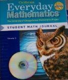Everyday Mathematics Grade 5 California Student Math Journal Volume 1 (The University of Chi...