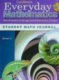 Everyday Mathematics Grade 6 California Student Math Journal Volume 1 (The University of Chi...