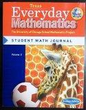 Texas Everyday Mathematics the University of Chicago School Mathematics Project Student Math...