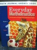 Everyday Mathmatics: Math Journal Answer Book, Grade 1 Volume 2 (The University of Chicago S...