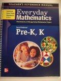 Teacher's Reference Manual; Everyday Mathematics, Pre-K,K (University of Chicago School Math...