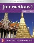 Interactions 1  - Writing Student Book Plus e-Course Code: Silver Edition