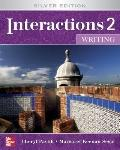 Interactions 2  - Writing Student Book Plus e-Course Code: Silver Edition