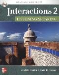 Interactions 2 - Listening/Speaking Student Book + eCourse Code: Silver Edition