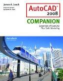 AutoCAD 2008 Companion with AutoDESK 2008 Inventor DVD