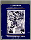 Economics: Principles, Problems, and Policies (Sinclair Community College ECO 216/218)