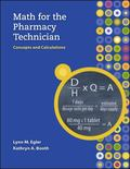 MP Math for the Pharmacy Technician with Student CD-ROM
