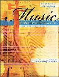 Workbook to accompany Music in Theory and Practice, Volume 1 with Finale Discount Sticker