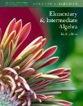 Hutchison's Elementary and Intermediate Algebra (Hutchison Series in Mathematics)