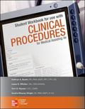 Student Workbook for use with Clinical Procedures for Medical Assisting