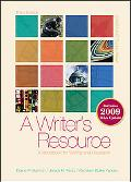 A Writer's Resource 2009 APA & MLA Update, Student Edition
